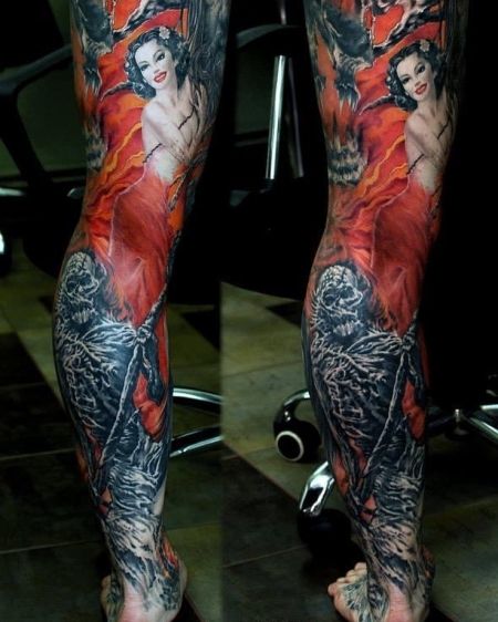 Leg Sleeve Game Over ;)