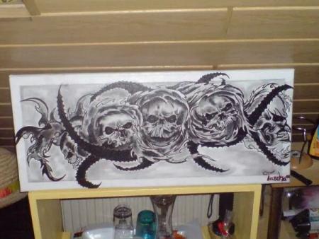 Tattoo Vorlage - Zeichnung