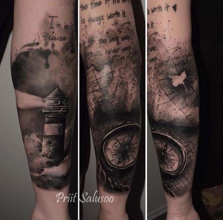 Tattoos Zum Stichwort Kompass Tattoo Bewertung De Lass Deine