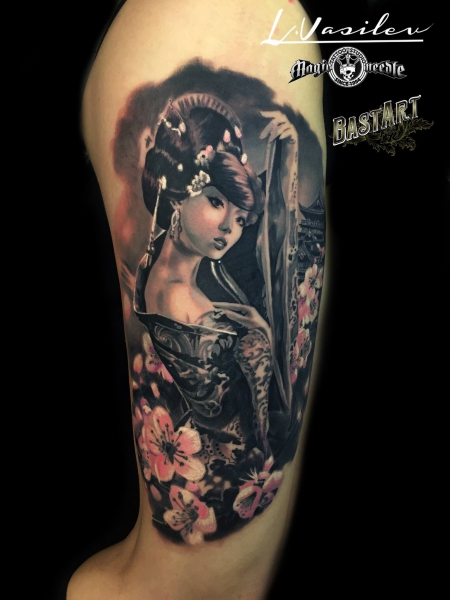 tattoocircle geisha tattoos von tattoo. Black Bedroom Furniture Sets. Home Design Ideas