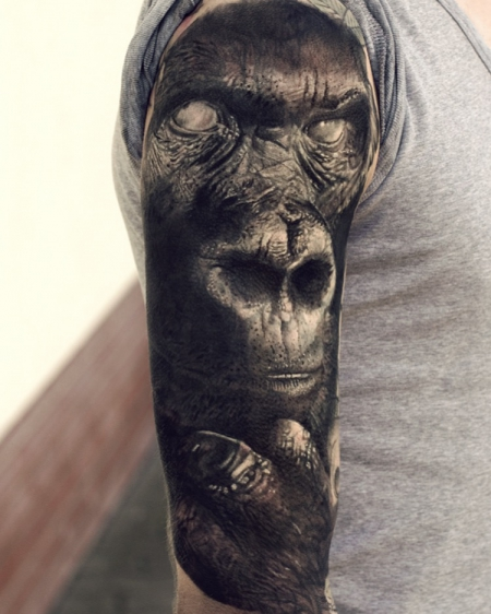 gorilla-Tattoo: Gorilla