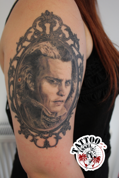 Johnny Depp Portrait by Athur