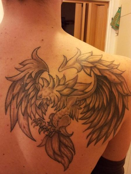 speedy6n2 phoenix tattoos von tattoo. Black Bedroom Furniture Sets. Home Design Ideas
