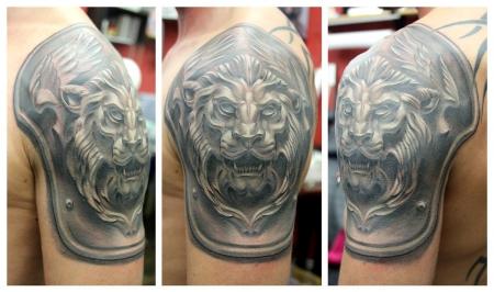 löwe-Tattoo: löwe