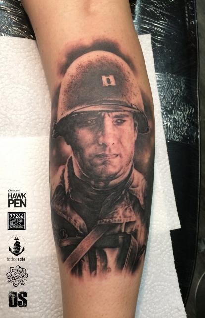 stechwerk wuppertal-Tattoo: Captain John H. Miller