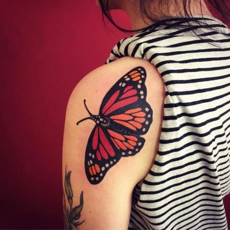 Solider Schmetterling