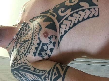 stern-Tattoo: Maori black