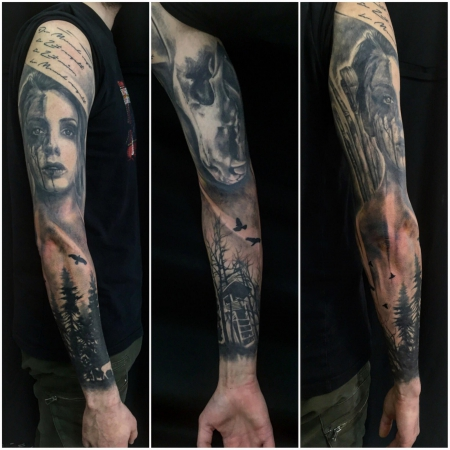 sleeve finished