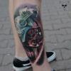 5 Wochen verheiltes Star Wars Tattoo - Frankfurt
