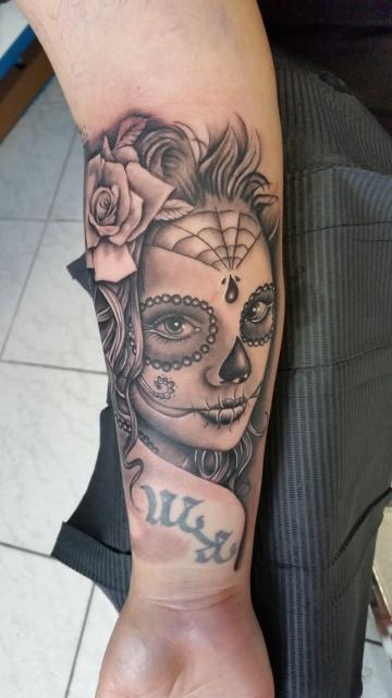 catrina-Tattoo: Catrina