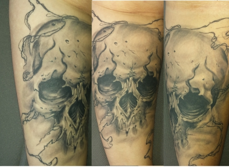 Skull abgeheilt