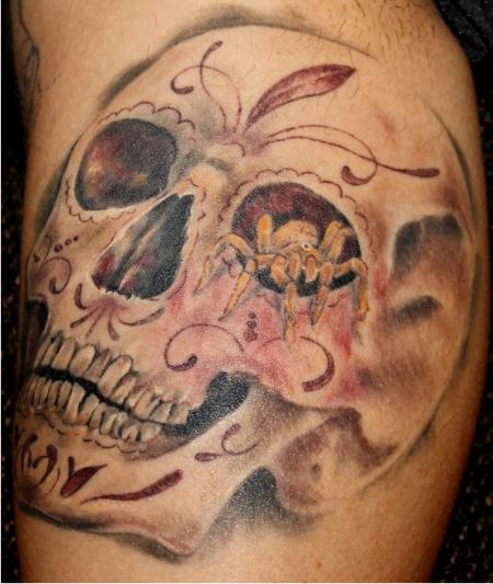 sugar skull-Tattoo: Sugar Skull