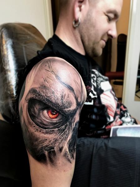 Fantasy Tattoo von Blanka