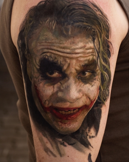 joker-Tattoo: Joker