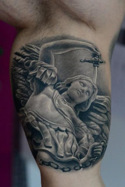 erzengel-Tattoo: erzengel