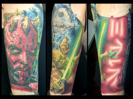 Star Wars, Assassin Ink, Tattoo Dresden