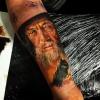 Gandalf Unterarm in Progress www.facebook.com/artfaktors