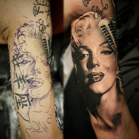 Coverup Marylin Monroe