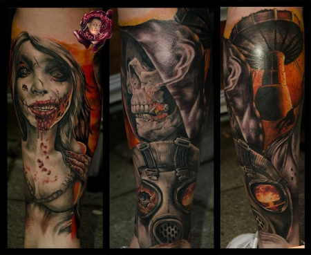 Lunatics Custom Tattoos by SoFat