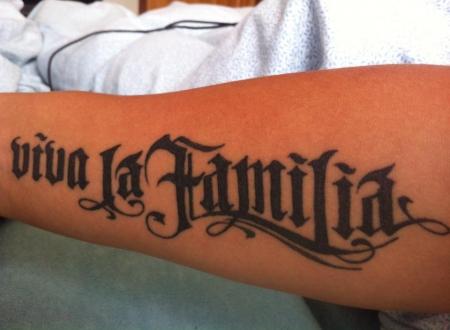 Viva La Familia Viva La Familia Tattoos Von Tattoo Bewertungde