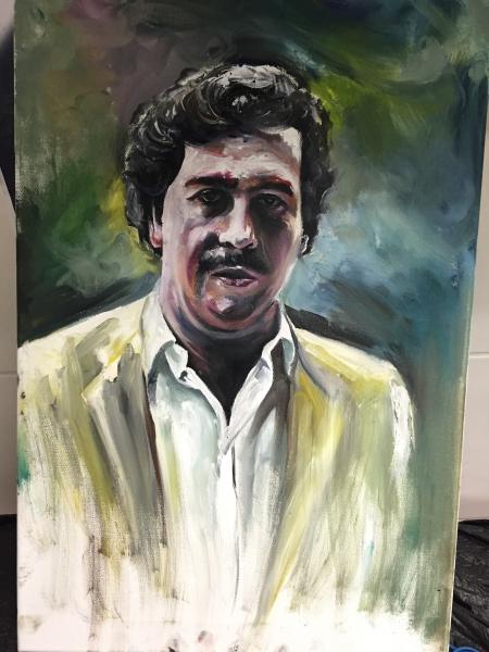 Portrait in Öl, gemalt von Constantin Schuldt