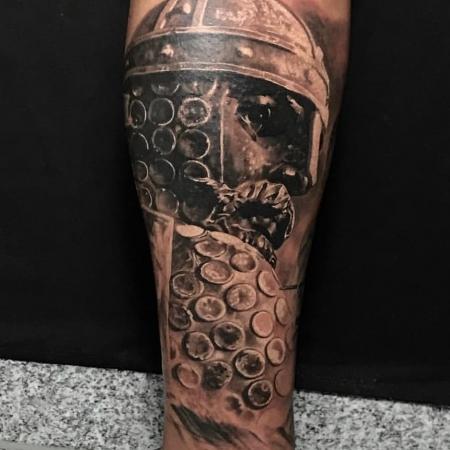König/Ritter Tattoo