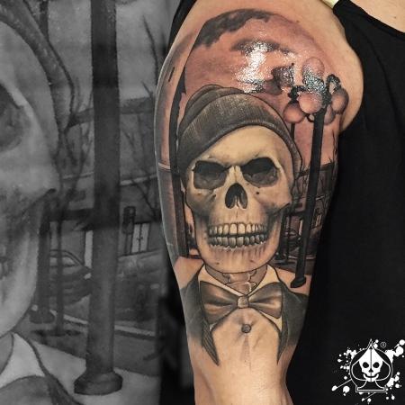 Gentleman skull part2