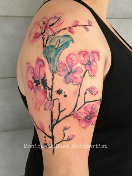 abstrakte Blumen