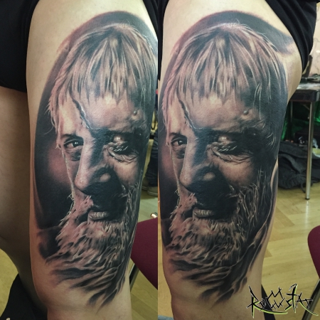stein-Tattoo: Holländer