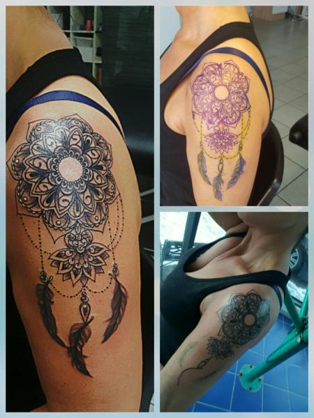 Traumfà Nger Tattoo: Nic1203: Traumfänger Mandala
