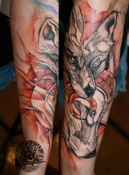 Fuchs von Marcus Stolz (Inkers Paradise Tattoo)