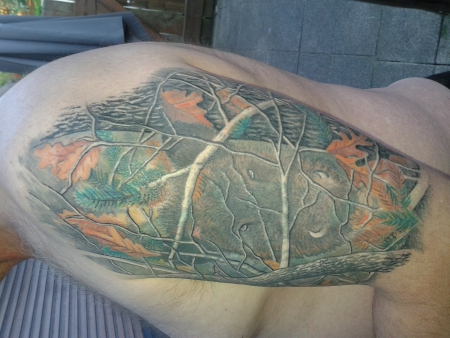 puzzle-Tattoo: realtree