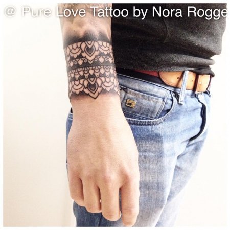 Mehndi Band by PURE LOVE TATTOO Nora Rogge