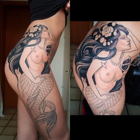 Progress: 2. Sitzung Meerjungfrau