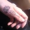 Zweites Selbstgestochenes Tattoo