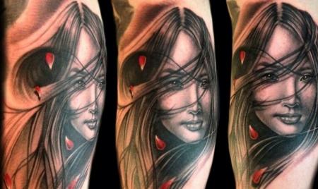 geisha-Tattoo: Geisha