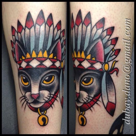 indianer-Tattoo: tattoo by DANO