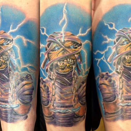 Pucky Iron Maiden Eddie The Head Tattoos Von Tattoo Bewertung De