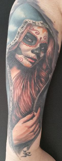 la catrina-Tattoo: La Catrina
