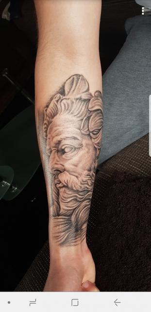 Poseidon, passend zu meinem Sternzeichen