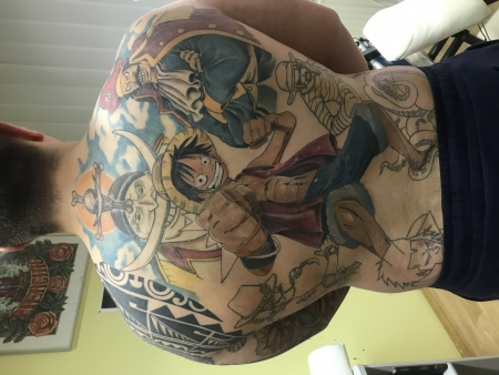 one piece backpiece