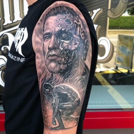 Terminator Theme Arnold