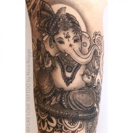 Ganesha by PURE LOVE TATTOO Nora Rogge