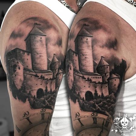 schloss milkendorf scheiden tatoo