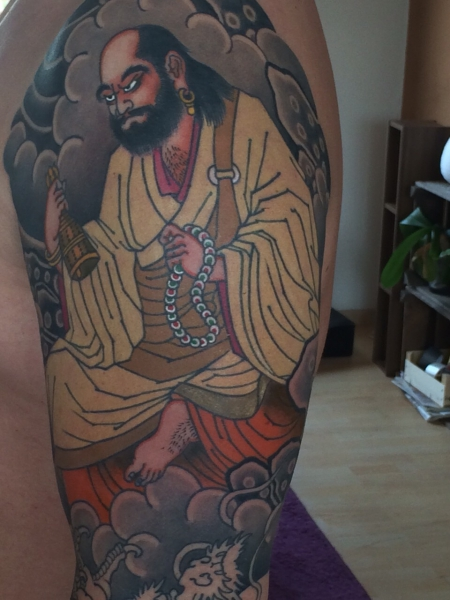 china-Tattoo: Bodhidharma Update