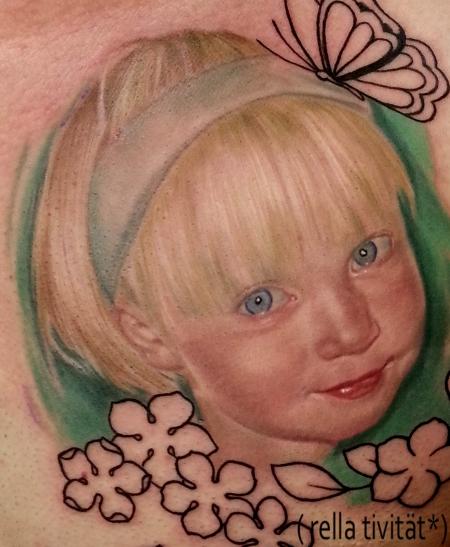 Kinderportrait, Mädchen