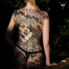 'Interpretation' Geisha Backpiece komplett verheilt - Michael Litovkin Tattoo