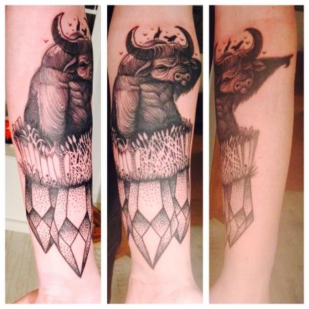 SW-Tattoo, Unterarm
