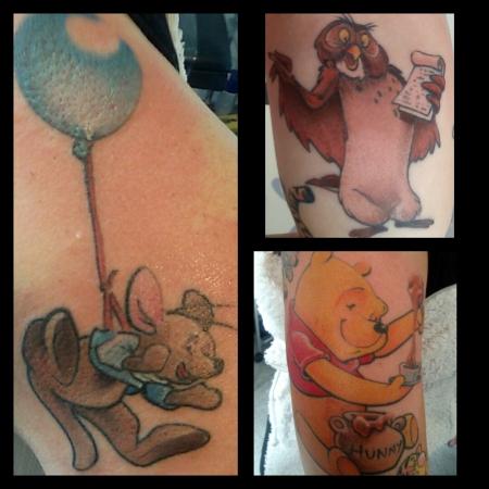 Winnie the Pooh www.tattoolucky72.de