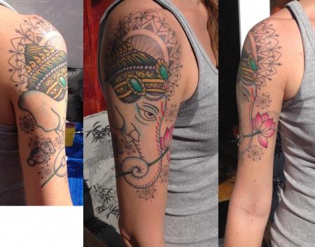 ganesha-Tattoo: Ganesha